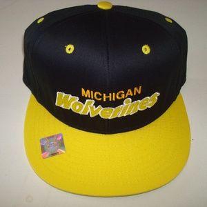 Other - MICHIGAN WOLVERINES VINTAGE SNAPBACK HAT CAP
